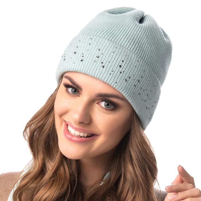 Klasyczna czapka damska Ariel