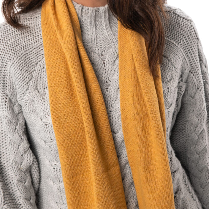 Scarf with cashmere Exit