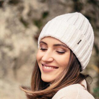 Czysta klasyka czapka z wełny i akrylu